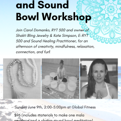 Mala Necklace and Sound Bowl Workshop