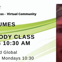 Virtual Classes – Mondays Lower Body with Karen