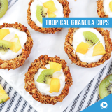 Tropical Granola Cups