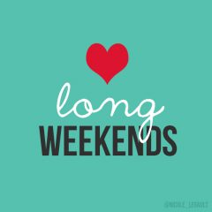 Long Weekend Hours