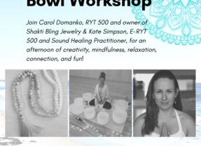 Mala Necklace and Sound Bowl Workshop