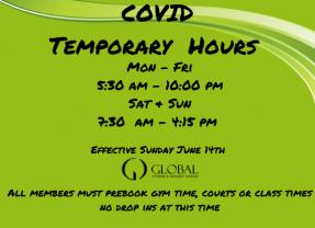 Temporary Hours