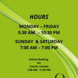 Club Hours